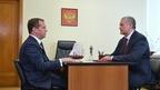 Встреча Дмитрия Медведева с главой Республики Крым Сергеем Аксёновым