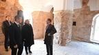 Дмитрий Медведев осмотрел Церковь Николы на Липне в Новгородской области