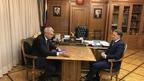 Алексей Гордеев встретился с губернатором Магаданской области Сергеем Носовым