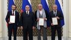 Михаил Мишустин вручил премии Правительства в области культуры за 2019 год