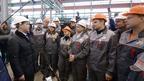 Посещение Северского трубного завода