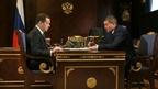 Встреча Дмитрия Медведева с губернатором Волгоградской области Андреем Бочаровым