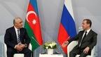Встреча Дмитрия Медведева с Премьер-министром Азербайджанской Республики Али Асадовым