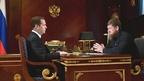Встреча Дмитрия Медведева с главой Чеченской Республики Рамзаном Кадыровым