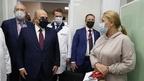 Михаил Мишустин посетил поликлинику центральной городской клинической больницы №1 Екатеринбурга