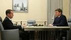 Встреча Дмитрия Медведева с президентом АК «АЛРОСА» Сергеем Ивановым