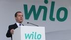 Дмитрий Медведев принял участие в церемонии открытия завода по производству насосного оборудования компании Wilo