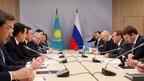 Встреча Дмитрия Медведева с Премьер-министром Республики Казахстан Аскаром Маминым