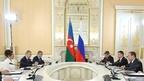Встреча Дмитрия Медведева с Первым вице-президентом Азербайджана Мехрибан Алиевой