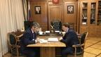 Алексей Гордеев провёл рабочую встречу с главой Республики Бурятия Алексеем Цыденовым