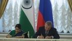 Юрий Борисов провёл заседание Межправительственной Российско-Индийской комиссии