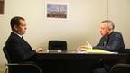 Встреча Дмитрия Медведева с временно исполняющим обязанности губернатора Санкт-Петербурга Александром Бегловым