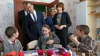 Дмитрий Медведев посетил ярославский центр социальной помощи семье и детям и встретился с губернатором региона Сергеем Ястребовым