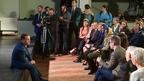 Встреча Дмитрия Медведева со студентами и преподавателями Российского института театрального искусства (ГИТИС)