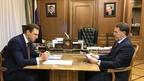 Алексей Гордеев провёл рабочую встречу c генеральным директором АО «Росгеология» Романом Пановым