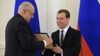 Дмитрий Медведев вручил дипломы лауреатам премий Правительства в области средств массовой информации