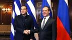 Встреча Дмитрия Медведева с Премьер-министром Греческой Республики Алексисом Ципрасом