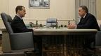 Рабочая встреча Дмитрия Медведева с  Виталием  Мутко