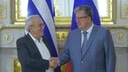 Сергей Приходько встретился с Министром культуры и спорта Греции Аристидисом Балтасом