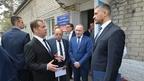 Дмитрий Медведев посетил Краевую детскую клиническую больницу в Чите