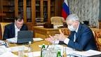 Марат Хуснуллин провёл рабочую встречу с главой Республики Северная Осетия – Алания Вячеславом Битаровым
