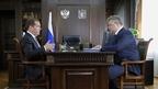 Встреча Дмитрия Медведева с губернатором Ставропольского края Владимиром Владимировым