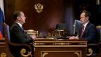 Встреча Дмитрия Медведева с генеральным директором, председателем правления ПАО «Россети» Павлом Ливинским