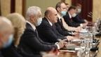 Встреча Михаила Мишустина с депутатами фракции партии «Единая Россия» в Государственной Думе