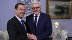 Dmitry Medvedev's conversation with German Foreign Minister Frank-Walter Steinmeier