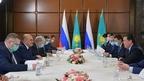 Mikhail Mishustin meets with Prime Minister of Kazakhstan Askar Mamin