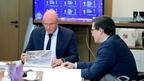 Дмитрий Чернышенко провёл рабочую встречу с губернатором Нижегородской области Глебом Никитиным