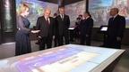 Михаил Мишустин осмотрел мультимедийную экспозицию пятигорского музейного комплекса «Россия – моя история»