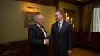 Игорь Шувалов встретился с Министром экономики, образования и исследований Швейцарии Йоханом Шнайдер-Амманом