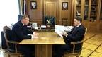 Алексей Гордеев провёл рабочую встречу с губернатором Омской области Александром Бурковым