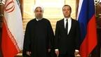 Встреча Дмитрия Медведева с Президентом Ирана Хасаном Рухани