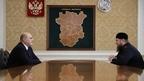 Беседа Михаила Мишустина с главой Чеченской Республики Рамзаном Кадыровым