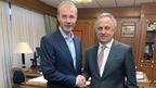 Виталий Мутко встретился с губернатором Чукотского автономного округа Романом Копиным
