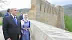 Михаил Мишустин посетил крепость Нарын-Кала в Дербенте