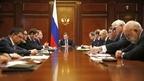 Встреча Дмитрия Медведева с членами бюро правления Российского союза промышленников и предпринимателей (РСПП)