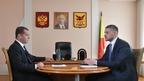 Встреча Дмитрия Медведева с временно исполняющим обязанности губернатора Забайкальского края Александром Осиповым