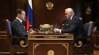 Встреча Дмитрия Медведева с президентом Российского союза промышленников и предпринимателей Александром Шохиным