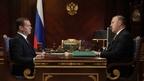 Встреча Дмитрия Медведева с главой Республики Адыгея Муратом Кумпиловым