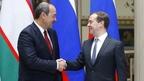 Встреча Дмитрия Медведева с Премьер-министром Узбекистана Абдуллой Ариповым