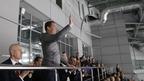 Дмитрий Медведев посетил финальный матч Универсиады по хоккею с шайбой