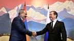 Встреча Дмитрия Медведева с Премьер-министром Армении Николом Пашиняном