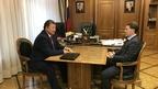 Встреча Алексея Гордеева с председателем Комитета Государственной Думы по аграрным вопросам Владимиром Кашиным