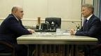 Встреча Михаила Мишустина с президентом, председателем правления ПАО «Сбербанк России» Германом Грефом