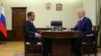 Встреча Дмитрия Медведева с губернатором Пензенской области Иваном Белозерцевым