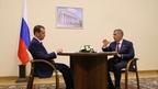 Встреча Дмитрия Медведева с президентом Республики Татарстан Рустамом Миннихановым
