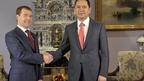 Дмитрий Медведев встретился с Премьер-министром Киргизии Омурбеком Бабановым